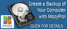 Backup all your important information with MOZY online backup