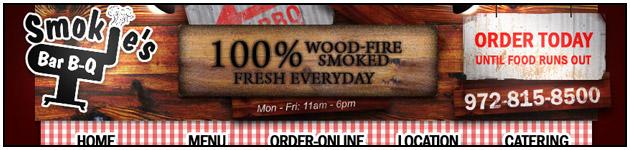 BBQ Delivery Website Header