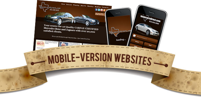 Mobile Version Websites