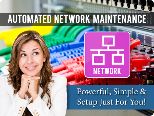 automated network updated